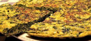 Recette Frittata di spinaci