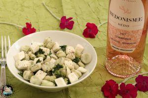 Recette Salade de fèves au fromage