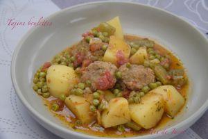 Recette Tajine boulettes