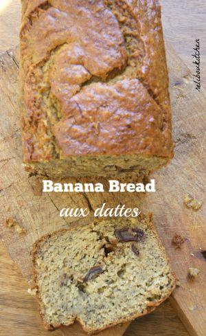 Recette Banana bread aux dattes