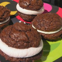 Recette Whoopies aux chamallows