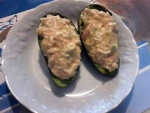 Recette Avocat creole