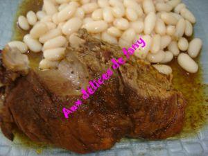 Recette Rouelle de porc aigre douce