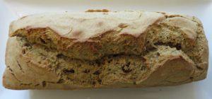 Recette Pain-gâteau rapide au sarrasin et aux raisins secs