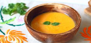 Recette Soupe au potiron et au lait de coco