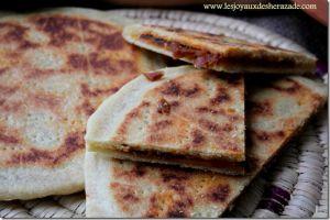 Recette Galette kabyle / recette de kesra farcie