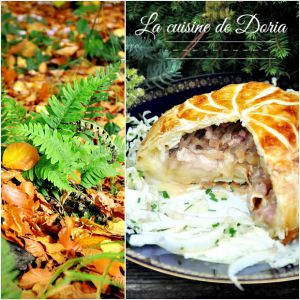 Recette Feuilleté au camembert et lardons