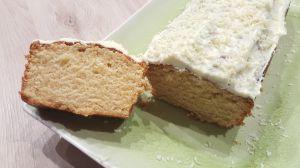 Recette Cake à la vanille et son glaçage au chocolat blanc