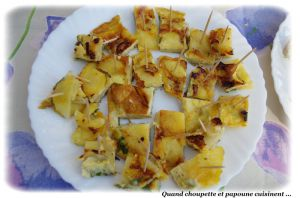 Recette Frittata de pommes de terre et oignons rouges