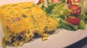Recette Frittata aux asperges, sans gluten