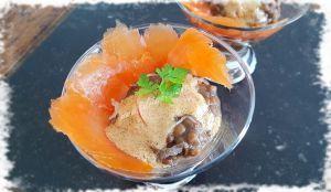 Recette Salade de Lentilles & Saumon Fumé