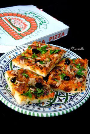 Recette «Pizza épaisse rapide»