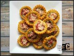 Recette Minis Pizza au Pesto d'amandes & Roquette
