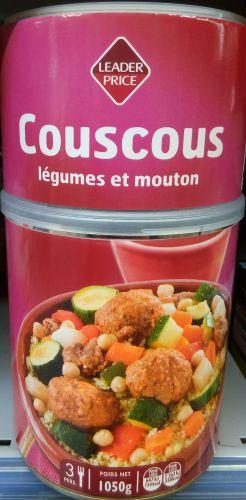 Recette Batch Cooking de couscous pour remplacer les boites de conserve