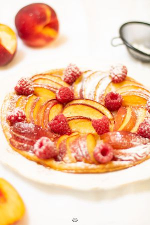 Recette Tarte aux nectarines