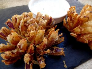 Recette Fleur d'oignon frit