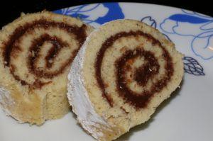 Recette Roulé à la pâte à tartiner maison