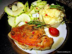 Recette Rouelle de porc à la sauce teriyaki, gingembre