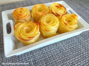 Recette Roses de pommes de terre (Potatoes roses)