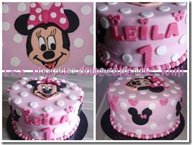 Recette Gâteau Minnie 2