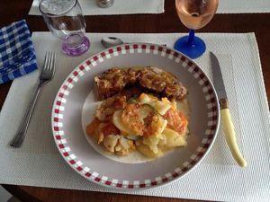 Recette Filet mignon de veau et son gratin aux 3 couleurs