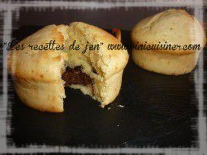 Recette Muffins Nutella
