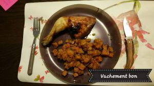 Recette Cuisses de poulet au miel et épices