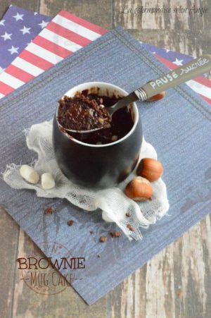 Recette Brownie mug cake {vegan}