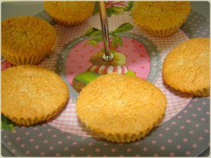 Recette Muffins aux noisettes de Julie