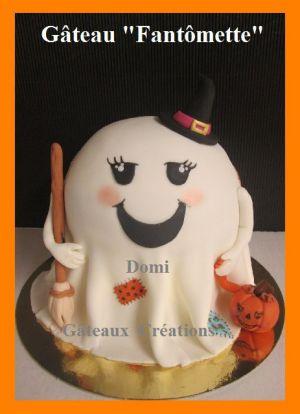 Recette Halloween: Gâteau Fantômette en Pâte à Sucre