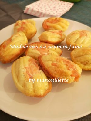 Recette Madeleines au saumon fumé