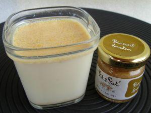 Recette Yaourts maison au biscuit breton (pour 8 pots)
