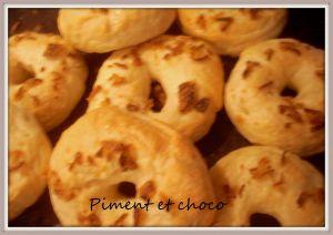 Recette Bagel aux oignons frits