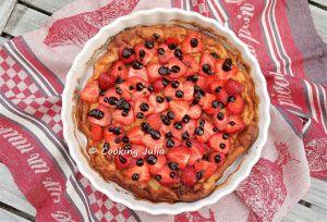 Recette Dutch baby pancake fraises-chocolat de clément
