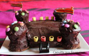 Recette Gâteau château-fort 3 d