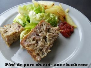 Recette Pâte de porc chaud sauce barbecue