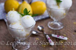 Recette Créponné (sorbet au citron d'Algérie)