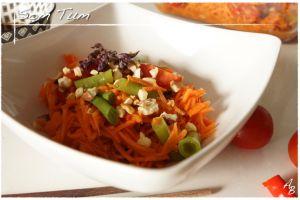 Recette Salade de carottes à la thaïlandaise ou Som Tum aux carottes