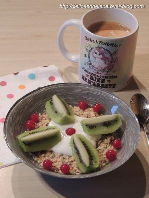 Recette Overnight oat aux graines de chia (ww)