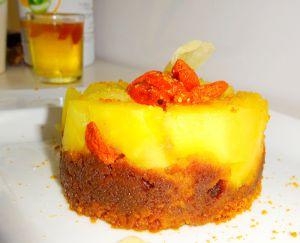 Recette Mini gâteaux renversés aux pommes - spéculos - baies de goji