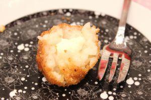 Recette Boulettes de risotto