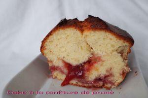 Recette Cake fourré à la confiture de prune