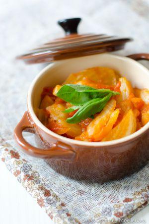 Recette Fenouil à la tomate