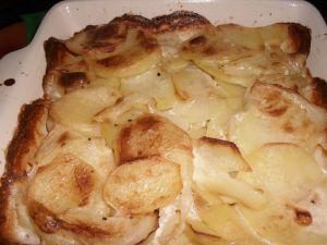 Recette Gratin de pommes de terre de julie