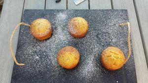 Recette Muffins praliné et fève tonka