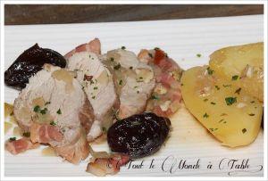 Recette Filet mignon de porc aux pruneaux