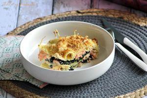 Recette Lasagnes aux épinards & saumon