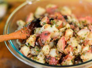 Recette Salade de patates au bacon