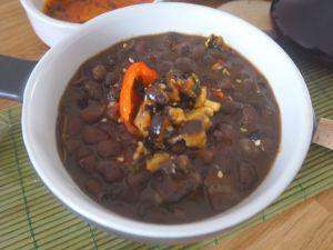 Recette Curry de haricots noirs
