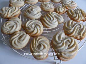 Recette Biscuits Spritz